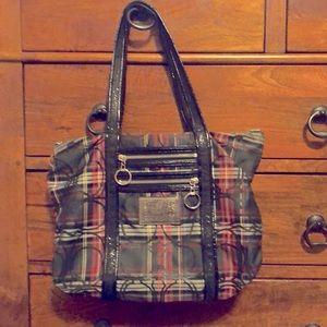 Well loved Coach Poppy purse